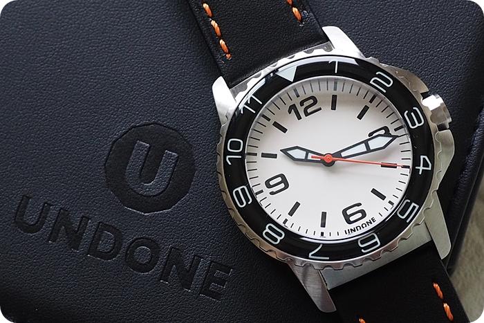 創造你的獨一無二。Undone Aqua 客製錶 @捲爸尋錶記